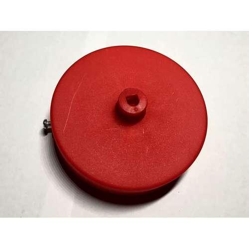Потолочный крепеж AMP основание круг пластик red красный