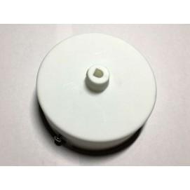 Потолочный крепеж AMP основание круг пластик белый