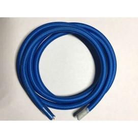 Провод текстильный AMP  2x0.75 голубой