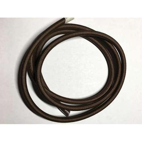 Провод текстильный AMP  2x0.75 коричневый