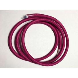 Провод текстильный AMP  2x0.75 фиолетовый deep purple