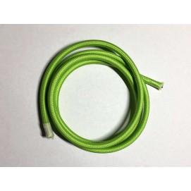Провод текстильный AMP  2x0.75 зеленый grass green