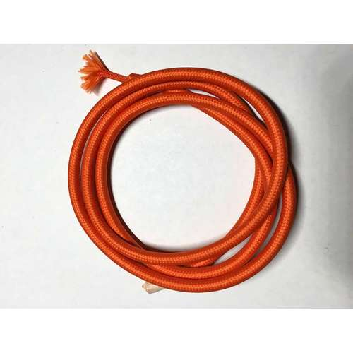 Провод текстильный AMP  2x0.75 оранжевый
