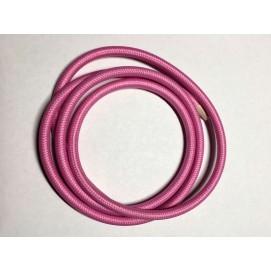 Провод текстильный AMP  2x0.75 розовый