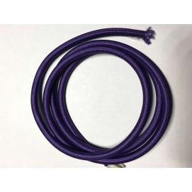 Провод текстильный AMP  2x0.75 фиолетовый