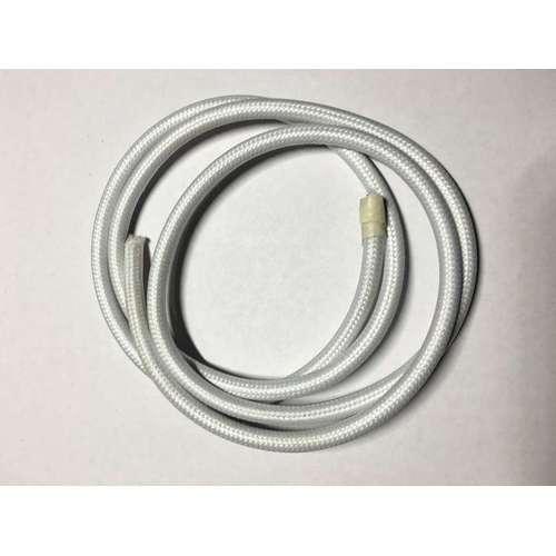 Провод текстильный AMP  2x0.75 белый
