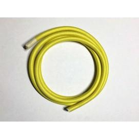 Провод текстильный AMP  2x0.75 желтый