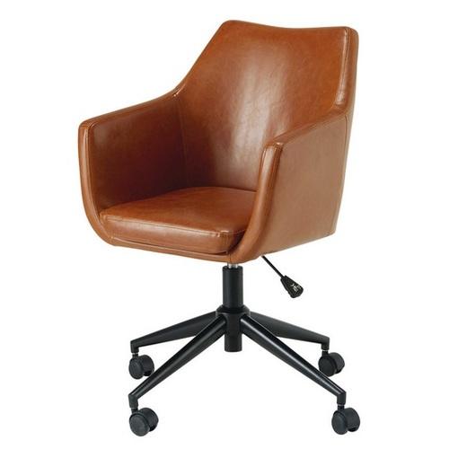 Кресло офисное Davis коричневое 165923 Maisons 2017