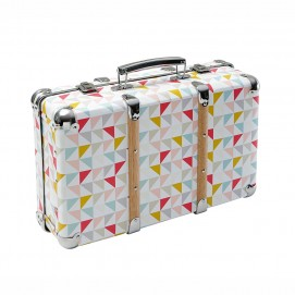 Сундук чемодан LÉA цветной 14 x 40 cm 159877 Maisons 2017