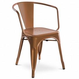 Кресло CLAUDIO медь-золото Huzz