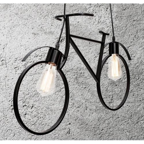Люстра Велосипед 756PR7021-2 черная Thexata