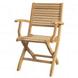 Кресло Oléron 49030013 натуральное Maisons 2017