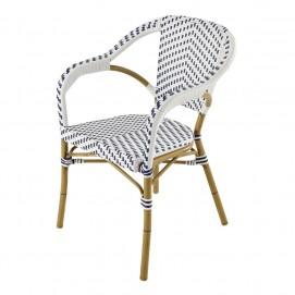 Кресло Kafe белое 155541 Maisons 2017