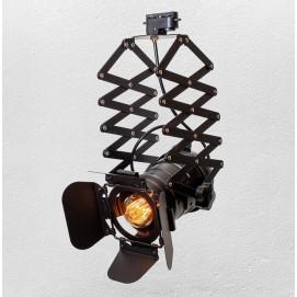 Прожектор на треке 75214 черный Thexata