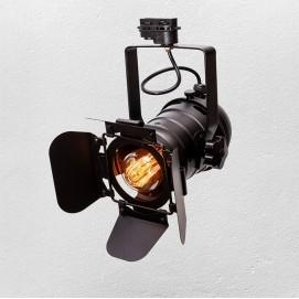 Прожектор на треке 75219 BK (трек) черный Thexata