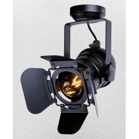 Прожектор 75220 BK черный Thexata