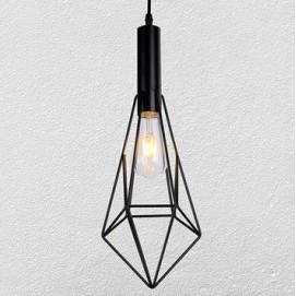 Лампа подвесная 7521204-1 BK черная Thexata