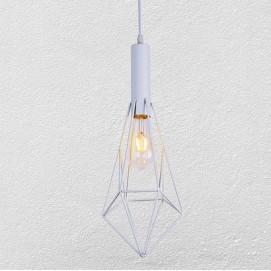 Лампа подвесная 7521204-1 WH белая Thexata
