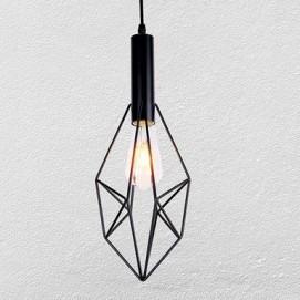 Лампа подвесная 7521205-1 BK черная Thexata