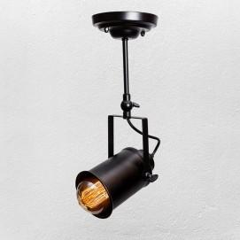 Прожектор 7521207A-1 BK черный 10 см Thexata