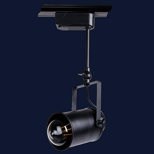 Прожектор на треке 7521207B-1 BK 10 см черный Thexata