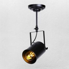 Прожектор 7521208A-1 BK черный 12 см Thexata