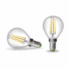 LED лампочка Эдисона 4W 2700K Clean прозрачное стекло