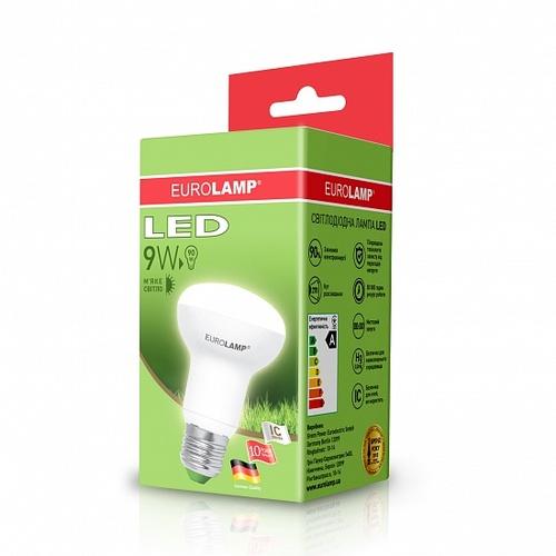 LED лампочка R63 9W 3000K