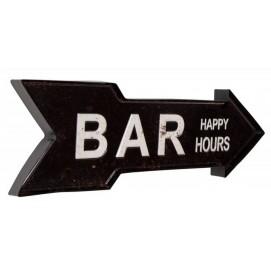 Настенный декор черный Bar 55cm (Z37168) Invicta