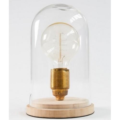 Лампа настольная Retro прозрачная 20cm (Z36873) Invicta