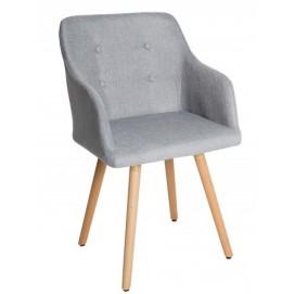 Кресло светло-серое Igloo Scandi Z36822 Invicta