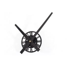 Часы Стрелки №3 черные 30 см Clock