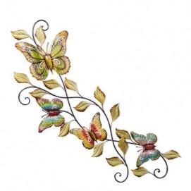 """Панно """"Лоза с бабочками"""" цветное 132х35 см Clok"""