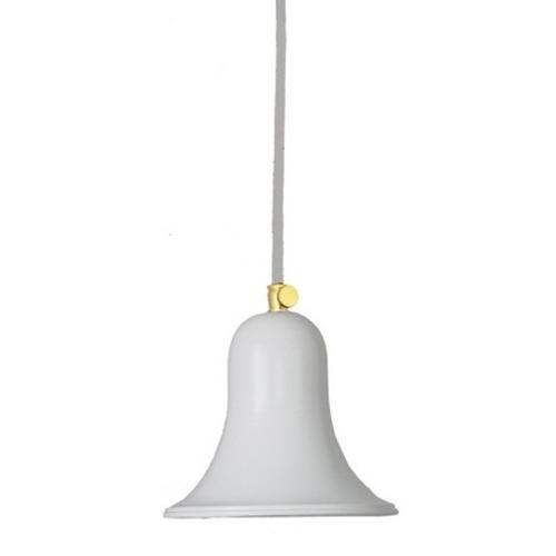 Лампа подвесная Bell, арт. 3333 белая PikArt