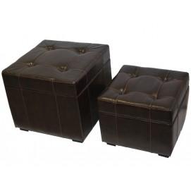 Набор пуфиков 77092 коричневый Artpol 2017