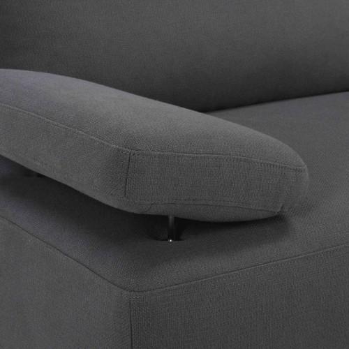 Диван угловой Stone темно-серый 166715 Maisons 2017