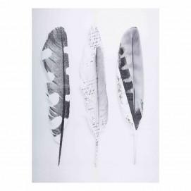 Картина 100x140cm BOHEMIAN черно-белая 164814 Maisons 2017