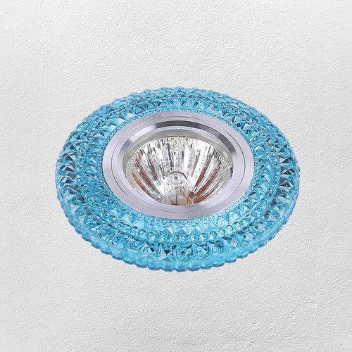 Точечный светильник 705A34 голубой Levada