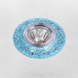 Точечный светильник 705A14 голубой Levada