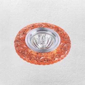 Точечный светильник 705A15 оранжевый Levada