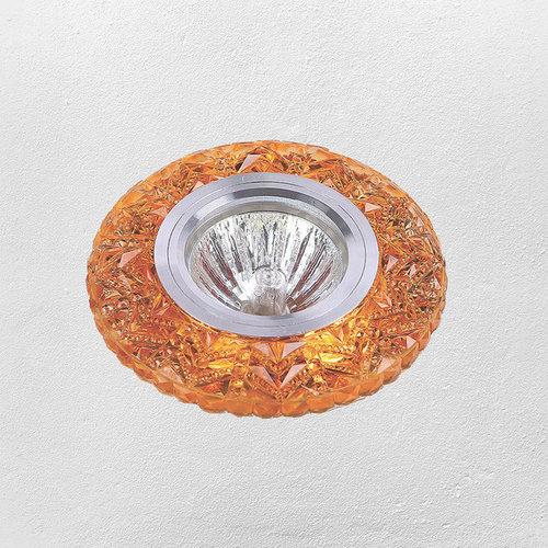 Точечный светильник 705A16 желтый Levada