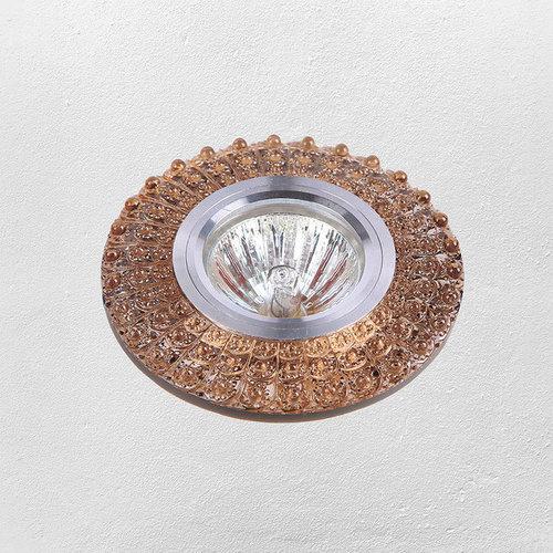 Точечный светильник 705A22 коричневый Levada