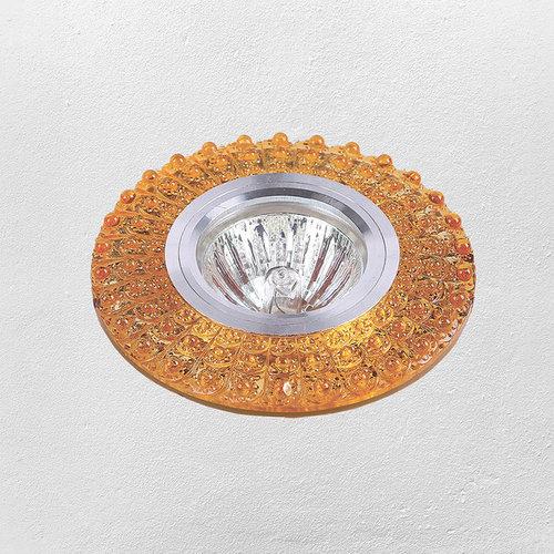 Точечный светильник 705A26 желтый Levada