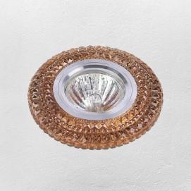 Точечный светильник 705A32 коричневый Levada