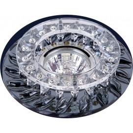 Точечный светильник 716B088 серый Levada