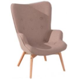 Кресло Флорино коричневое Mebelmodern