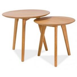 Набор столиков Milan S2 натуральный Signal