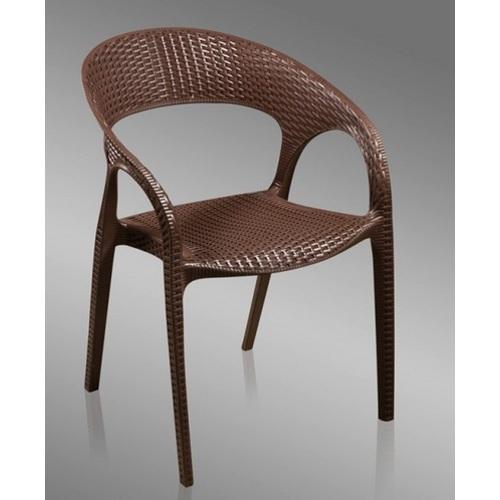 Кресло OW-135 коричневое Exouse