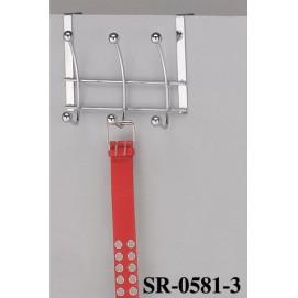 Вешалка SR-0581-3 хром Onder