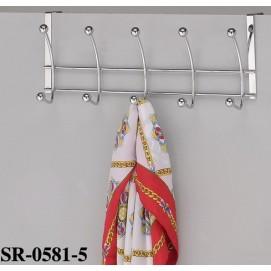 Вешалка SR-0581-5 хром Onder